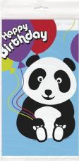 Birthday Panda Plastic Tablecover